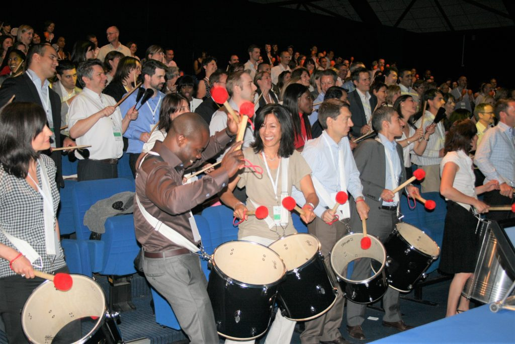 animation percussions team samba