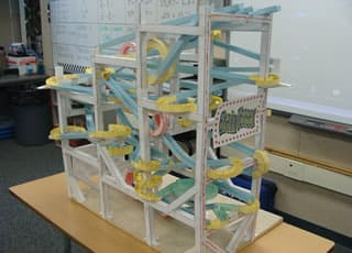 Roller coaster Team Building Construction de machine infernale
